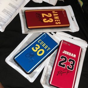 Other - NBA signed iPhone cases
